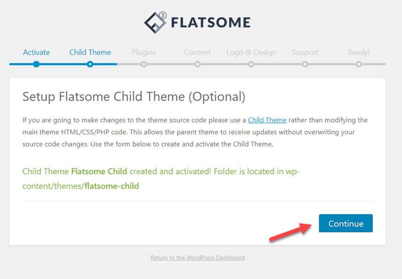 create child theme