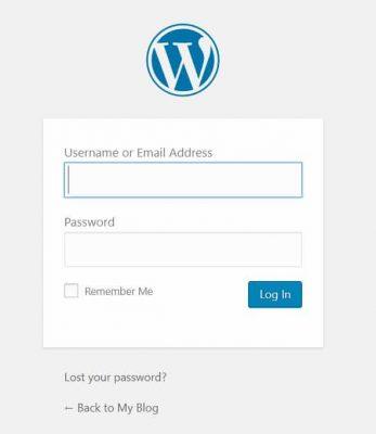 เข้าสู่ระบบ WordPress